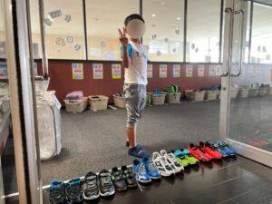 靴を並べて!!