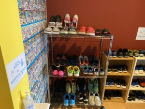 新しい靴箱!!